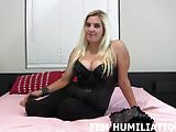 I love humiliating you like the sissy you are