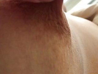 Her horny nipple-