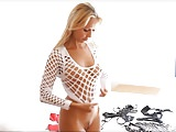 Blonde MILF trying clothes 18-08