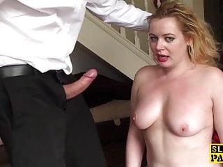 bdsm slut spanked and dominated...
