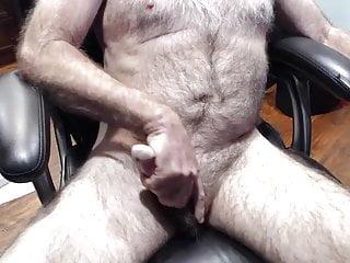Old man daddy cum on cam 82...