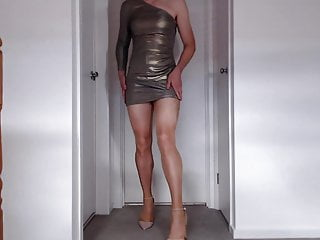 Crossdresser amp a big load of cum...