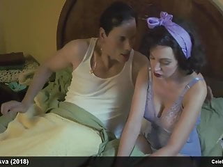 Emily Elicia Low & Jacqui Holland topless and sexy lingerie