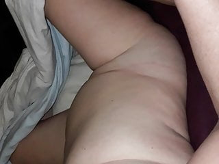 She is doing good by masturbating me
