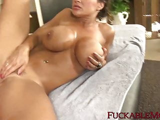 Facialized after riding thick cock...