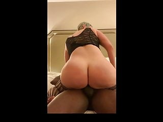 PAWG Riding BBC