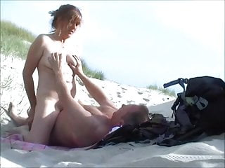 Playing beach...