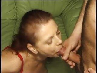 Big tit granny mathilda gets a poke in...