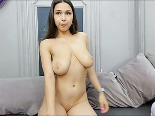 Russian-Indian Cutie with Bouncy Boobies