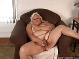 Sexy big tits blonde BBW shows off her lovely large boobs