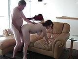 White Slut Amy Fucks 65 Year Old Guy pt1