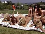 Vintage Lesbian Outdoor orgy