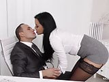 XXXexclusive - Sexy Daphne Klyde seduces her boss