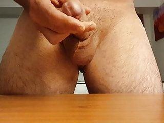 Hotel wank and cum