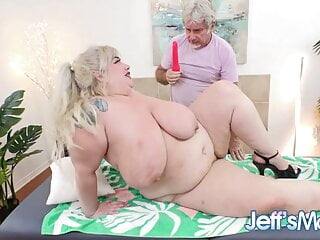 Pervy Masseur Has Some Gifts for Plumper Genevieve LaFleur