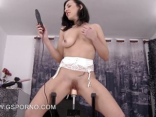 Mya Lorenn porn machine hd video
