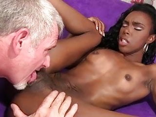 Large breast mature african hairy pink vagina cumhsot...