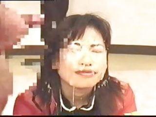 Japanese bukkake - censored