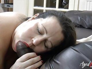 AgedLovE Strong Busty Old Slut Intense Bang