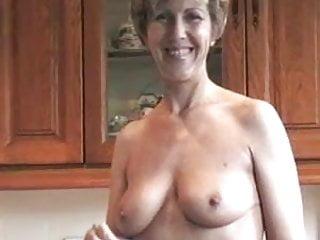 Sara irons while topless...