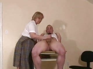 Old Teacher s Handjob...F70