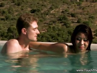From exotic orient with special sex outdoor...