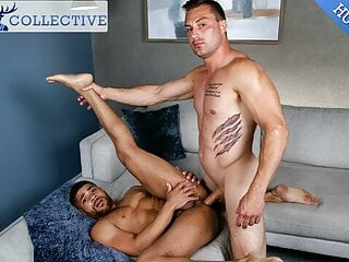 Hunky Newcomer Sylvester Red Takes His Biggest Dick Yet