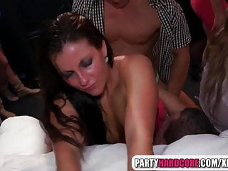 Ladies night ends with crazy fucking