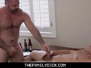 Jock stepson family sex bear stepdad after...