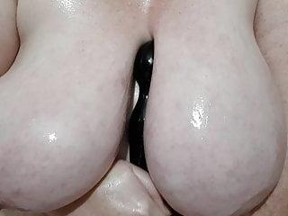 oiled boob wank HD Sex Videos