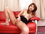 Asian slut toy fucks her sweet and tender wet pussy