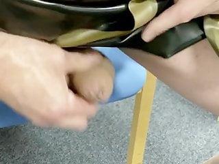 Mesh bodysuit latex skirt heels...