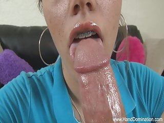 Are these blowjob lips with braces...