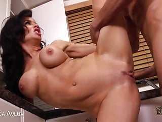 Milf blows cock like a pro...
