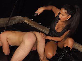 Black mistress slave male...