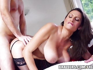 Brazzers jane shows off her big tits...