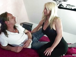 German Mother Fuck Step Bro and Step on in Family Story
