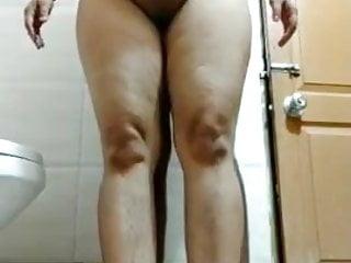 Indian girl with a big ass