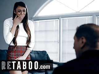 PURE TABOO Priest Convinces Teen 2 Give Her Anal Virginity