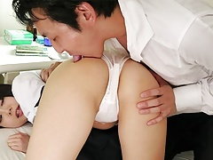 Japanese honey, Tomoyo Isumi rides dick, uncensored