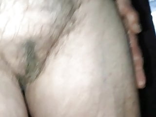 visited my very old aunt again  great saggy tits  hairy pussy
