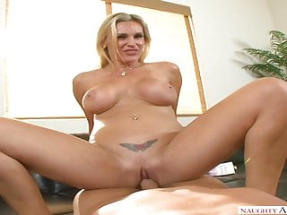 Naughty America Tanya Tate fucking in the chair with her bub