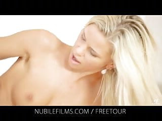 Nubile Films - Would you lick the cum from Dido Angels cream