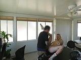 LOAN4K. Allie Rae tells she is a stripper so why loan agent