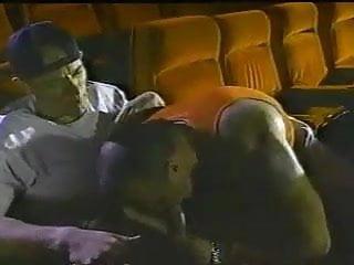 Porn vintage in cinema...