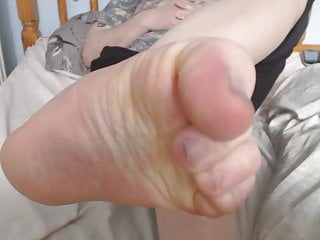 guy feet tease