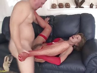 75 12 months weak horny mom earns fucked within the ass for the 1st time