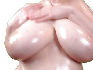 Oiled Boobs Tease