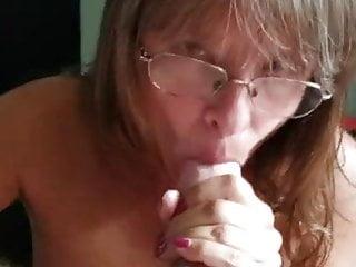 Mom sucking pov