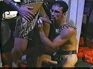 Muscle men pharoah orgy...